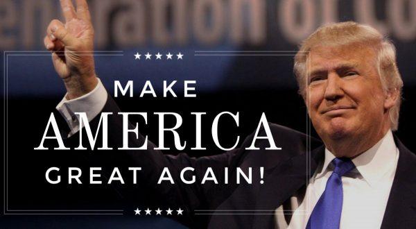 Trump et son fameux slogan