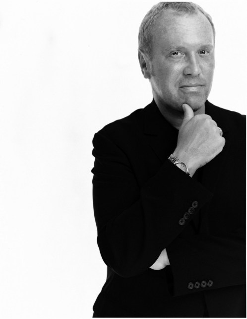 Michael Kors photo portrait