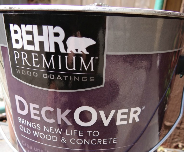 Behr Deck Over Paint