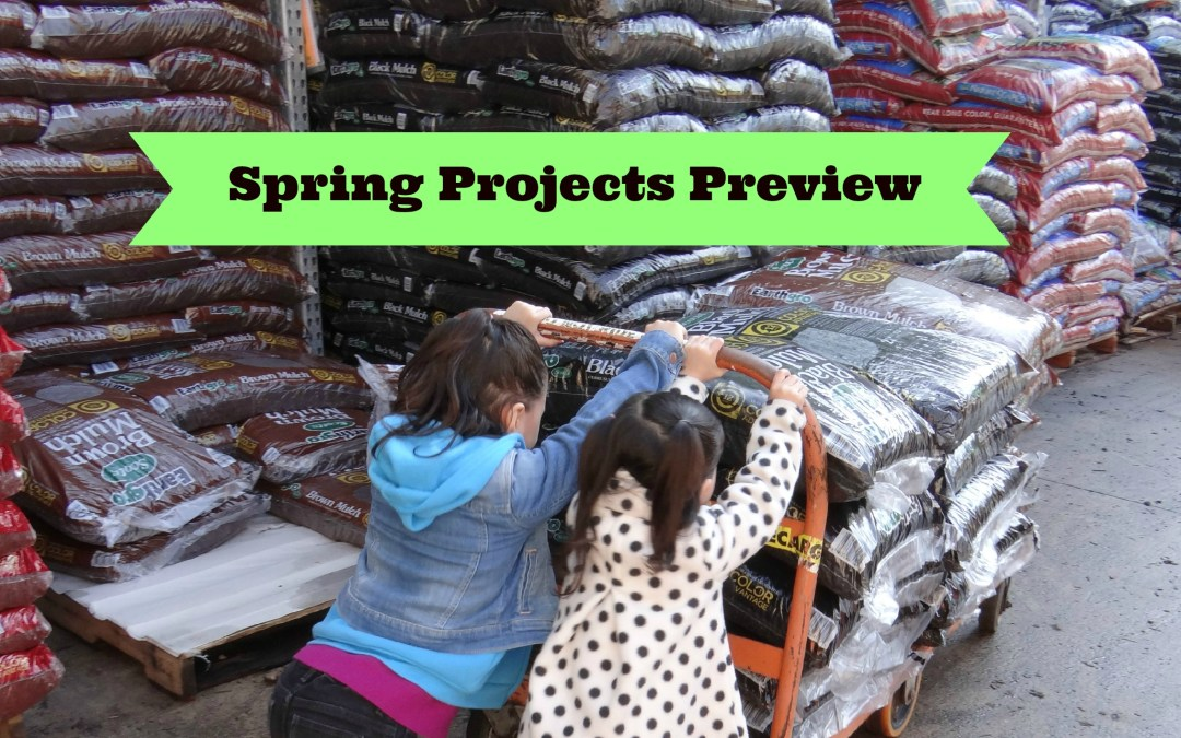 Spring Projects Preview – The Outdoors