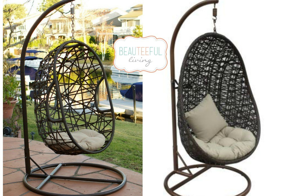 Beauteeful Finds – Patio Swings, Firepits, & Sunshade Structures