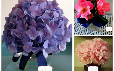 3 Fave Flowers from Garden