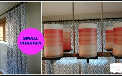 Small changes still make an impact
