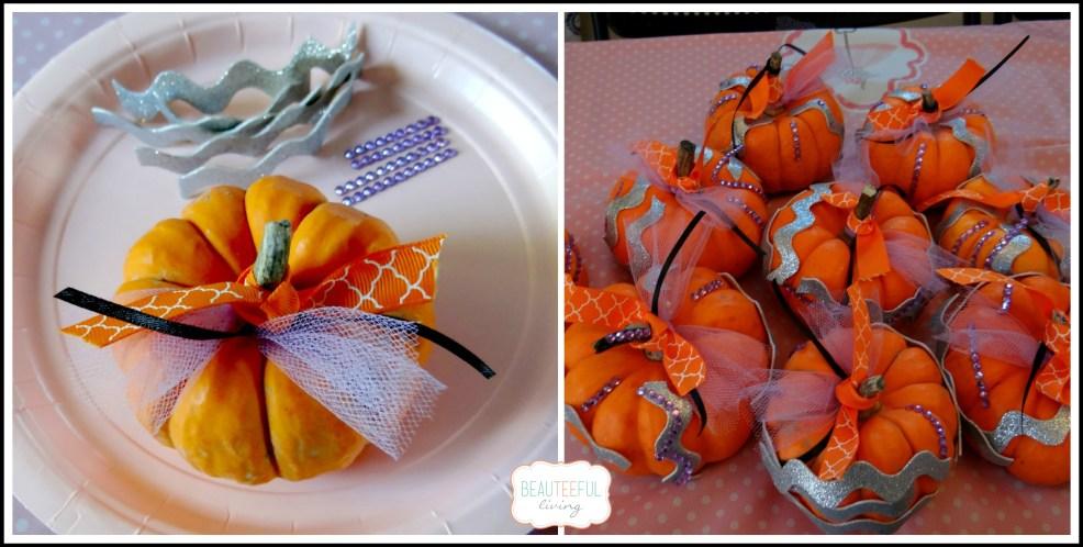 pumpkin ballerina craft collage