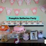 Pumpkin Ballerina Birthday Party