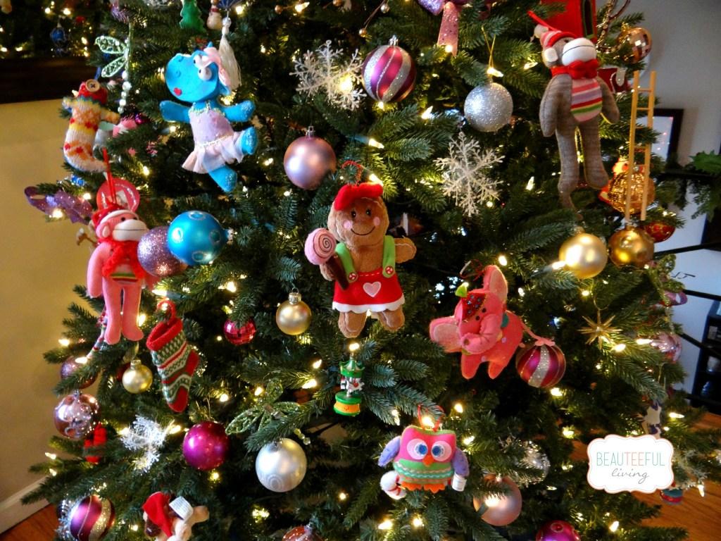 Fun ornaments for tree