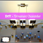 DIY – Ornament Chandelier