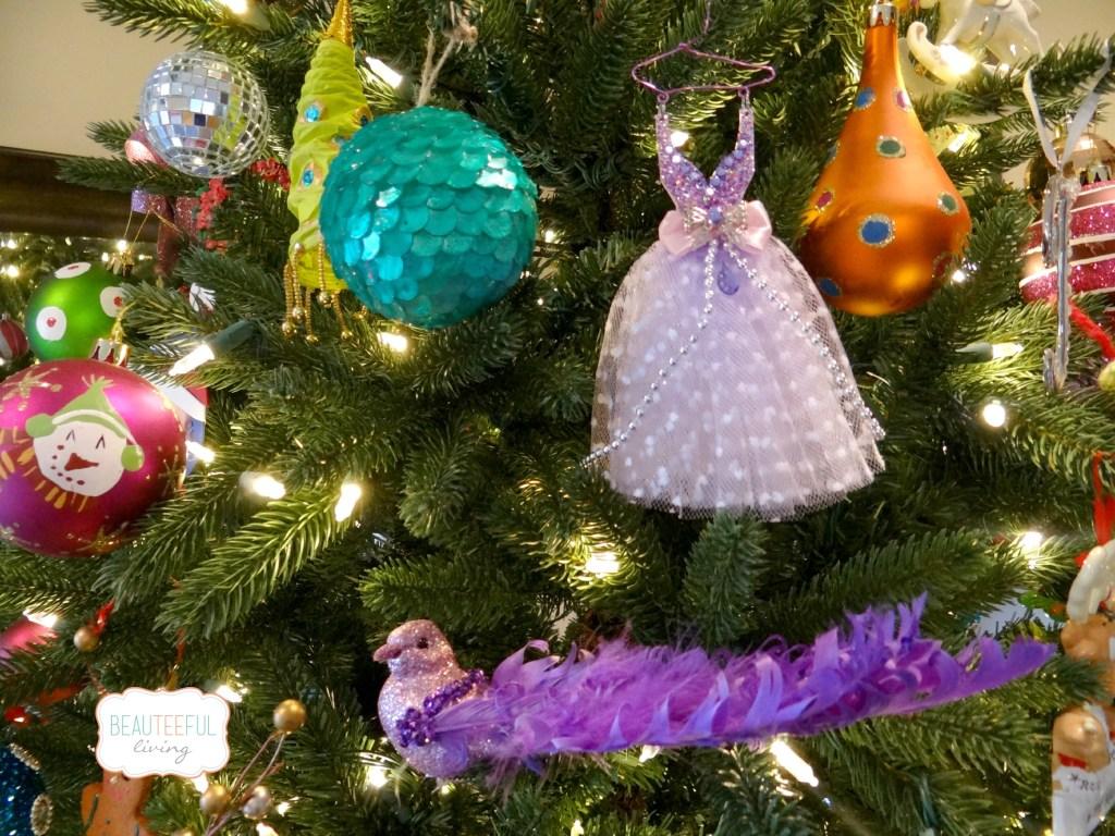 Textured ornaments