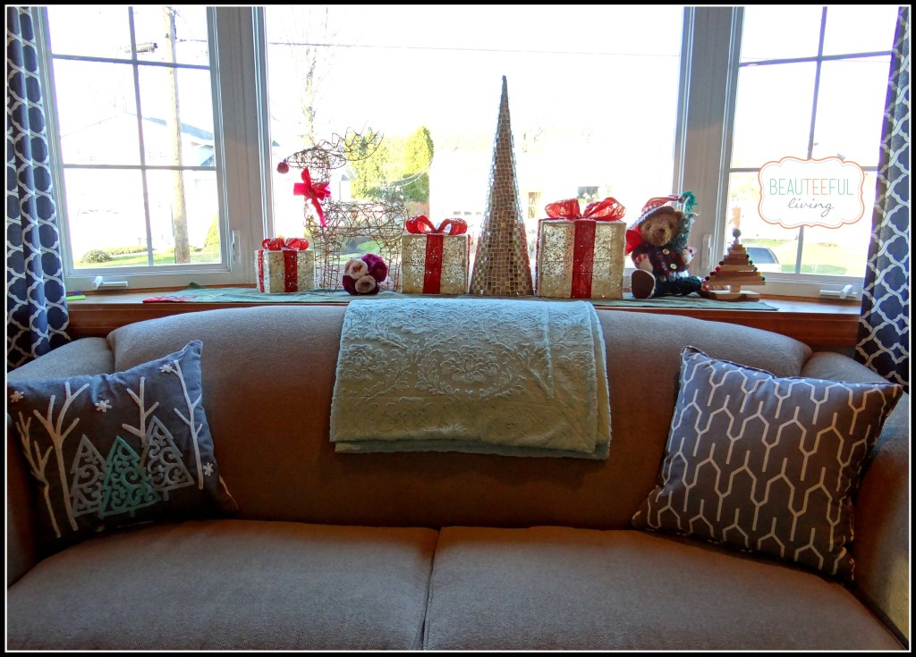 christmas bay window view