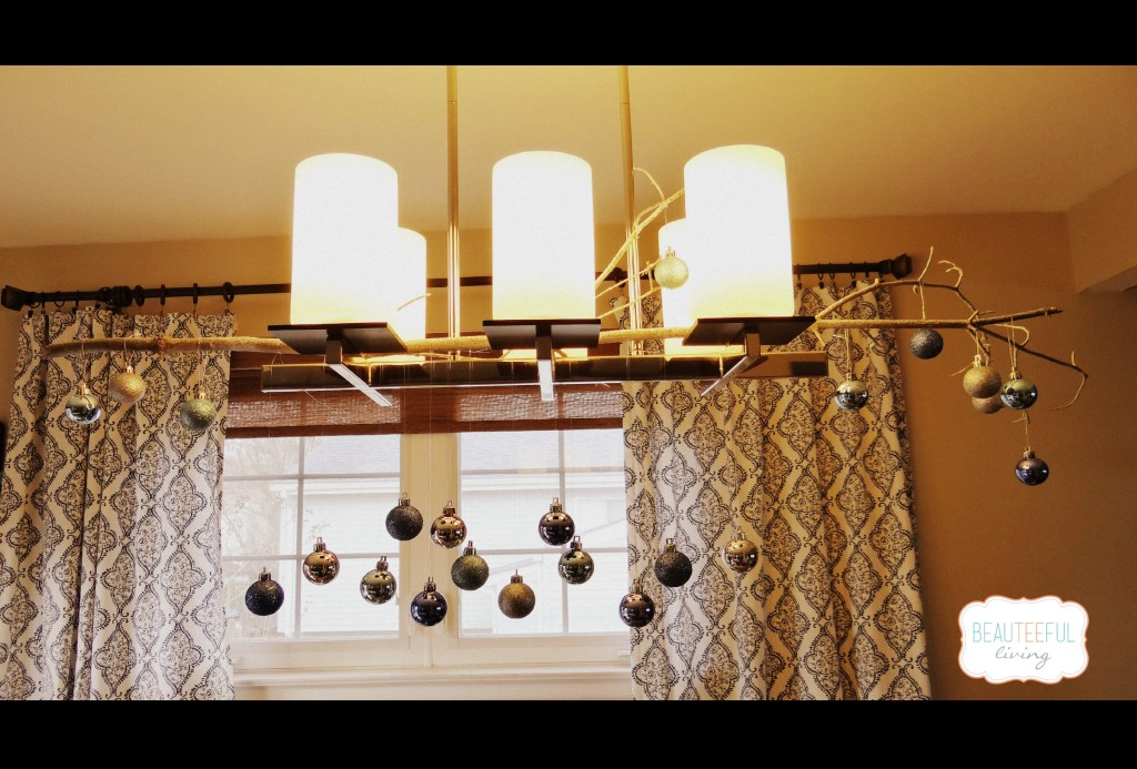 ormament chandelier diy