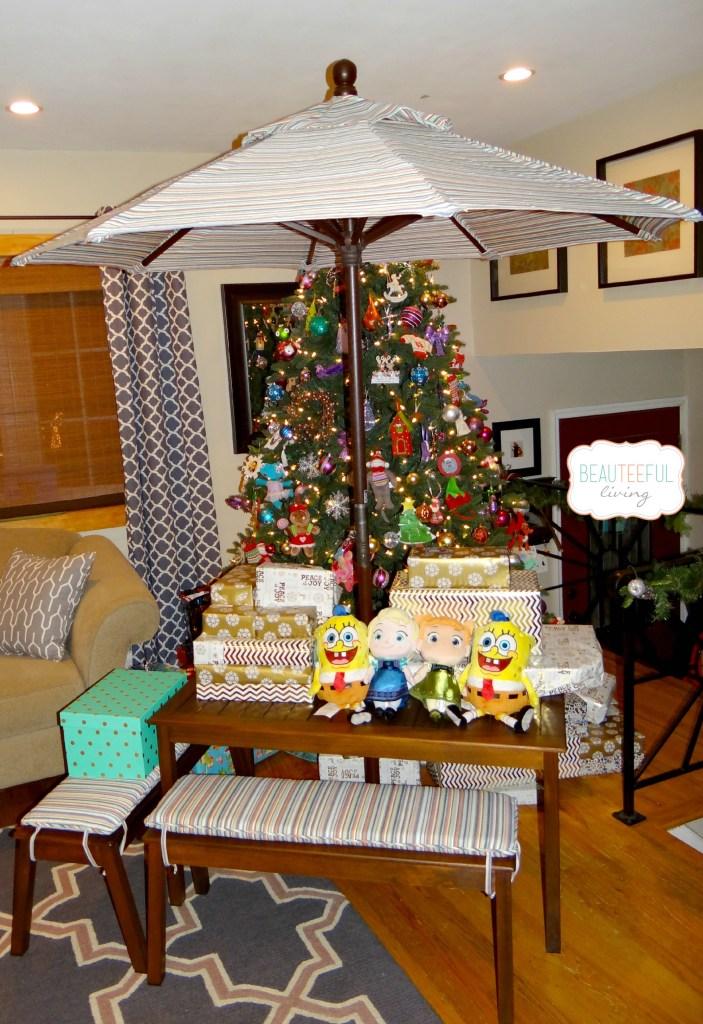 Christmas Presents Display