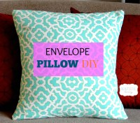 Envelope Pillow Covers  Craftbnb