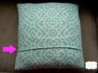 Envelope Pillow DIY - BEAUTEEFUL Living