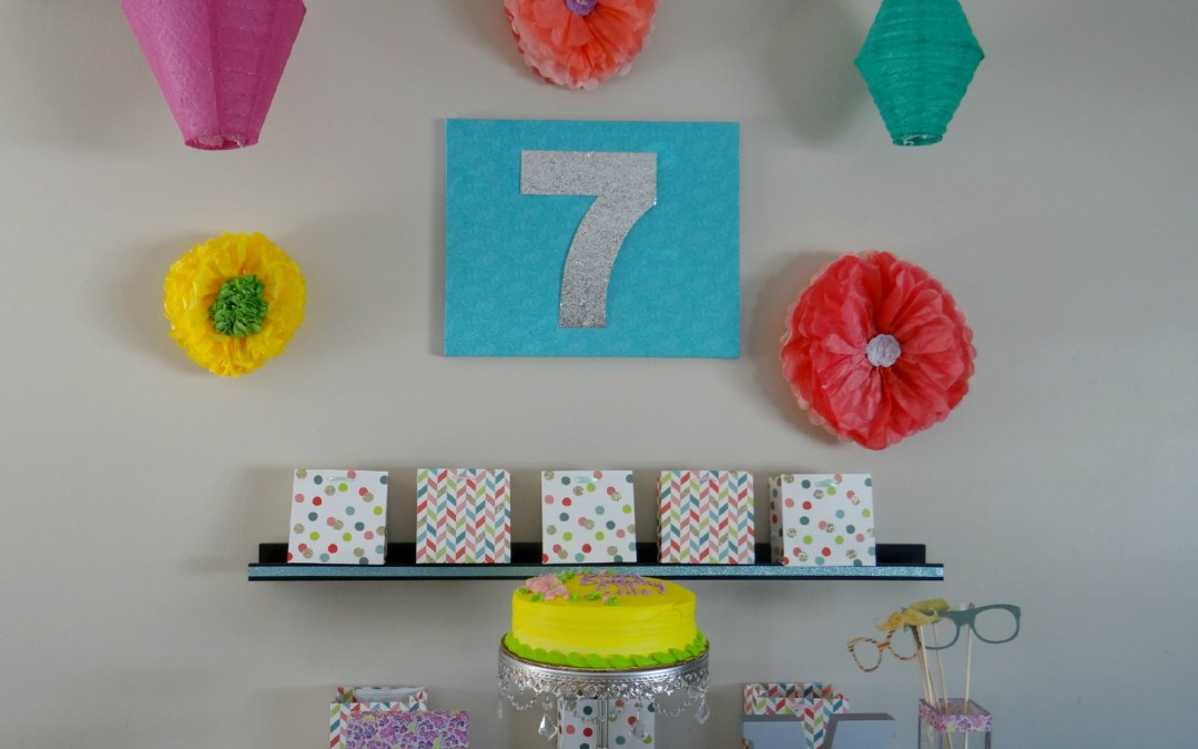Spring Themed Birthday Party