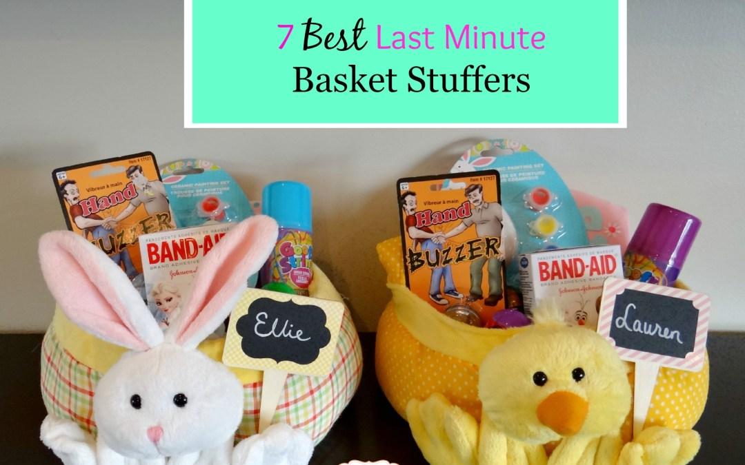 7 Best Last Minute Basket Stuffers