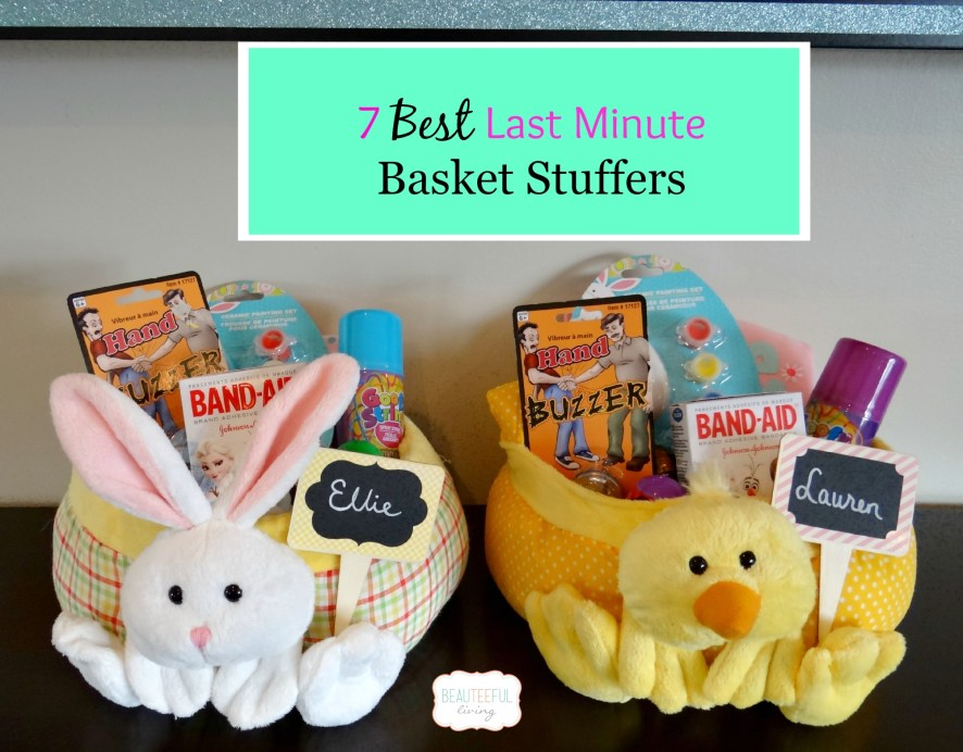 7 Best Last Minute Basket Stuffers