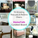 16 Amazing, Rescued, and Redone Chairs Curated for HomeTalk
