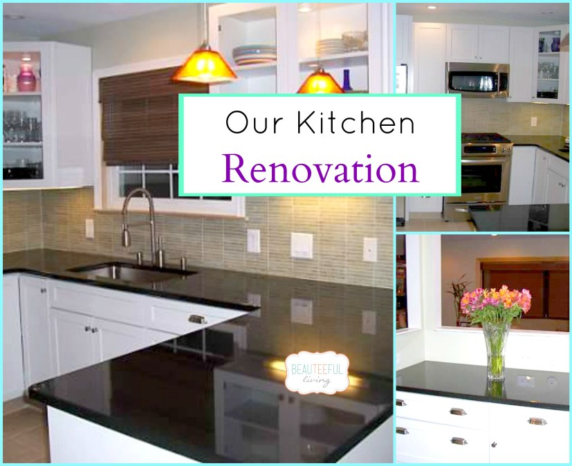 Kitchen renovation - Beauteeful Living