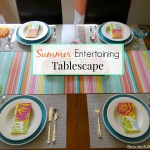 Summer Entertaining Tablescape