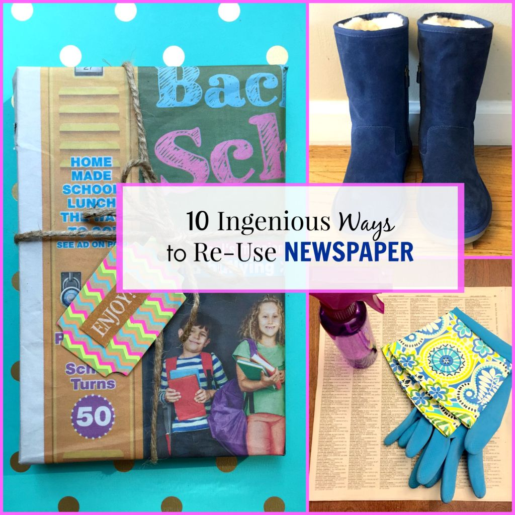 Ways to Reuse Newspaper - Beauteeful Living