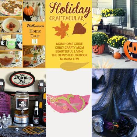 Holiday Craftacular - Oct Collage