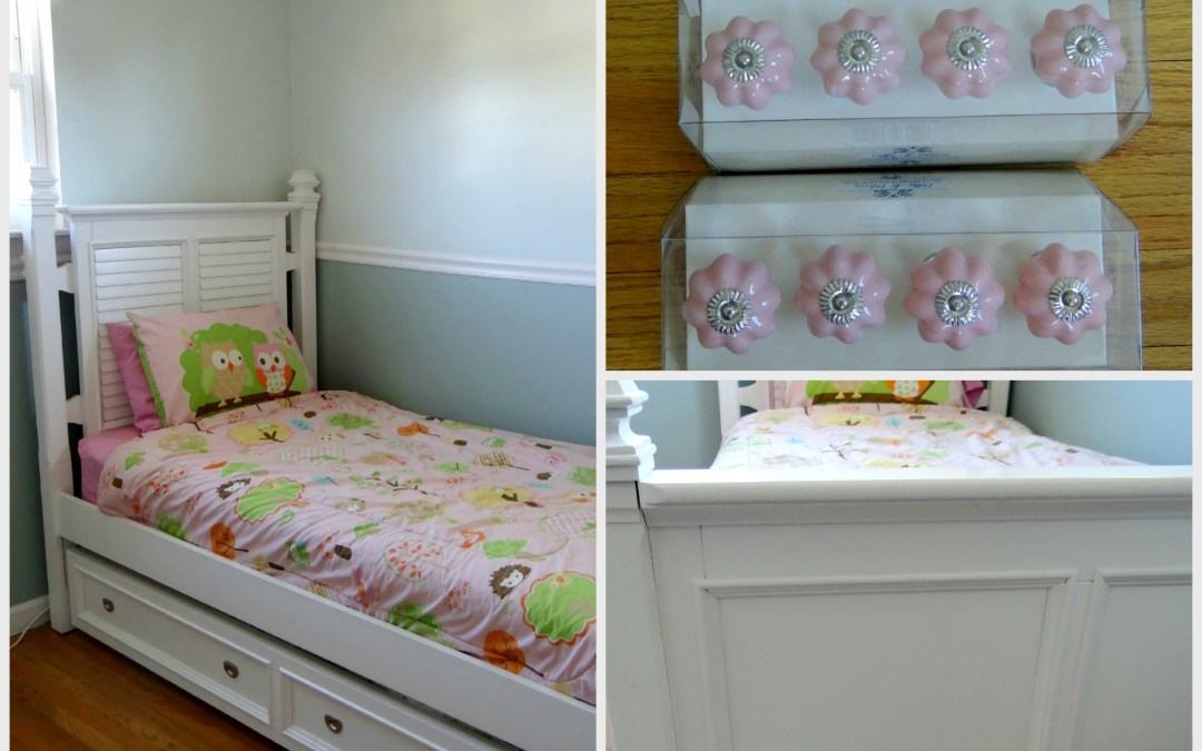 One Room Challenge – Week 2 (Girls Room)