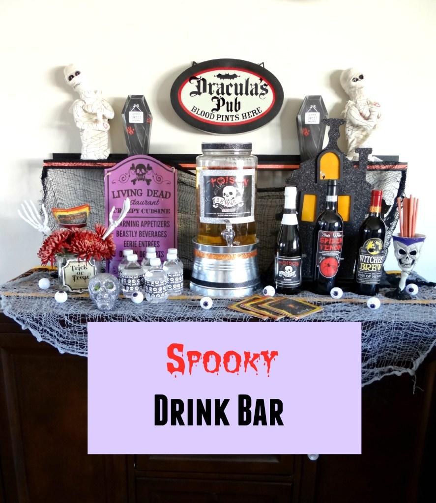 Spooky Drink Bar - Beauteeful Living