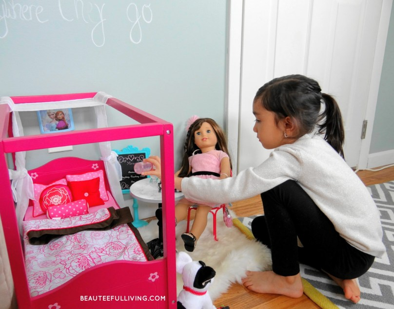 American Girl Play Area - Beauteeful Living
