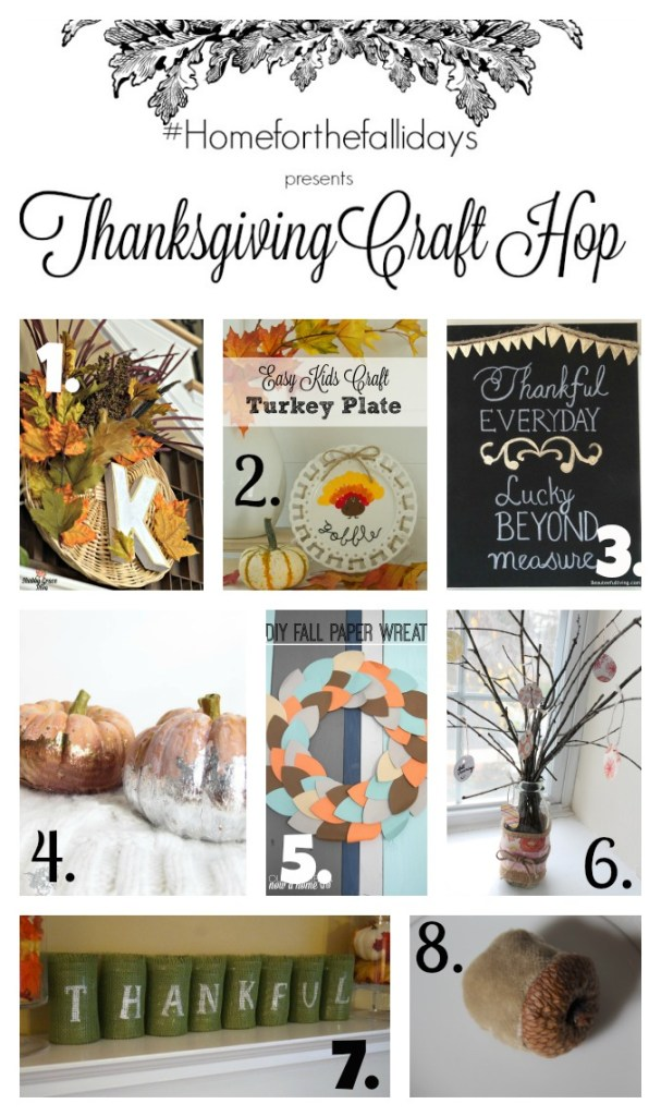 Thanksgiving Craft Hop Homeforthefallidays