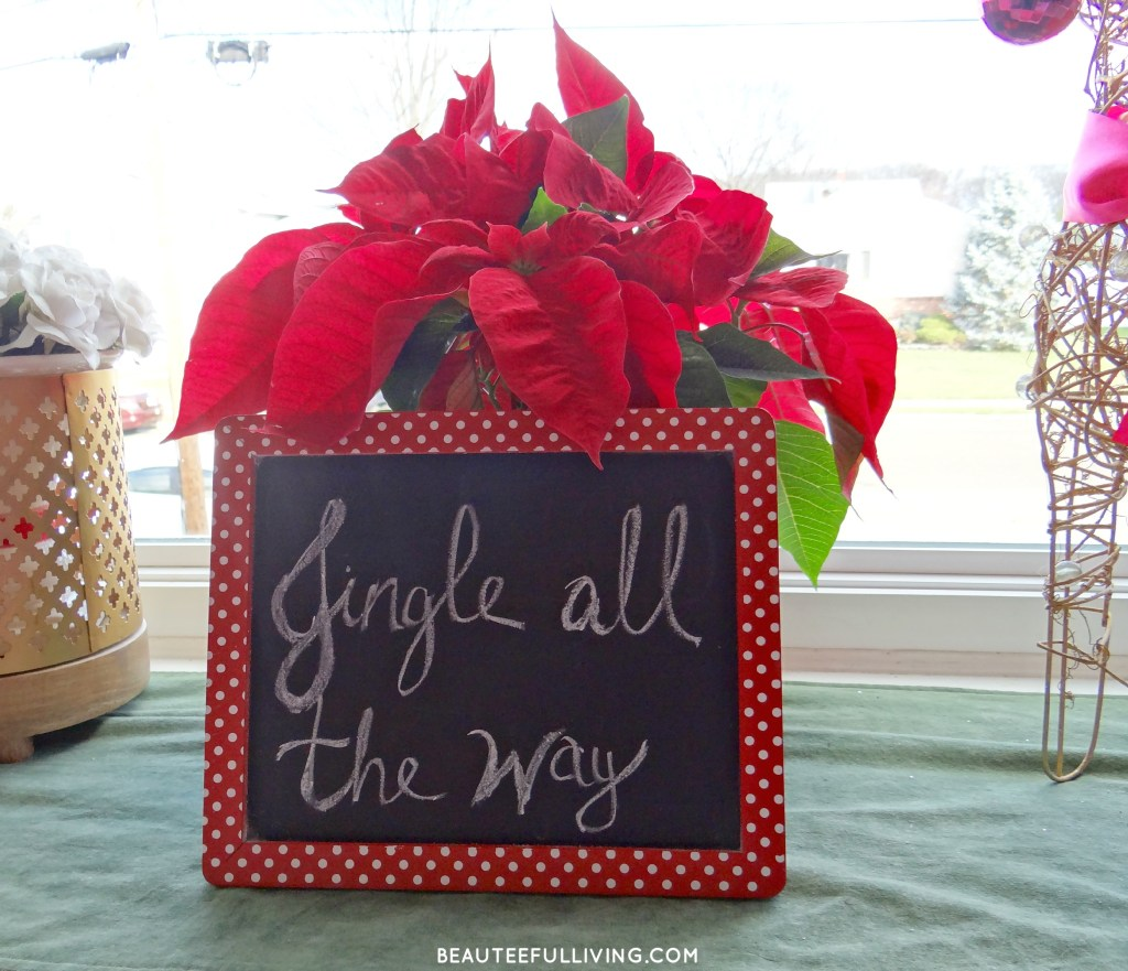 Jingle all the way sign - Beauteeful Living