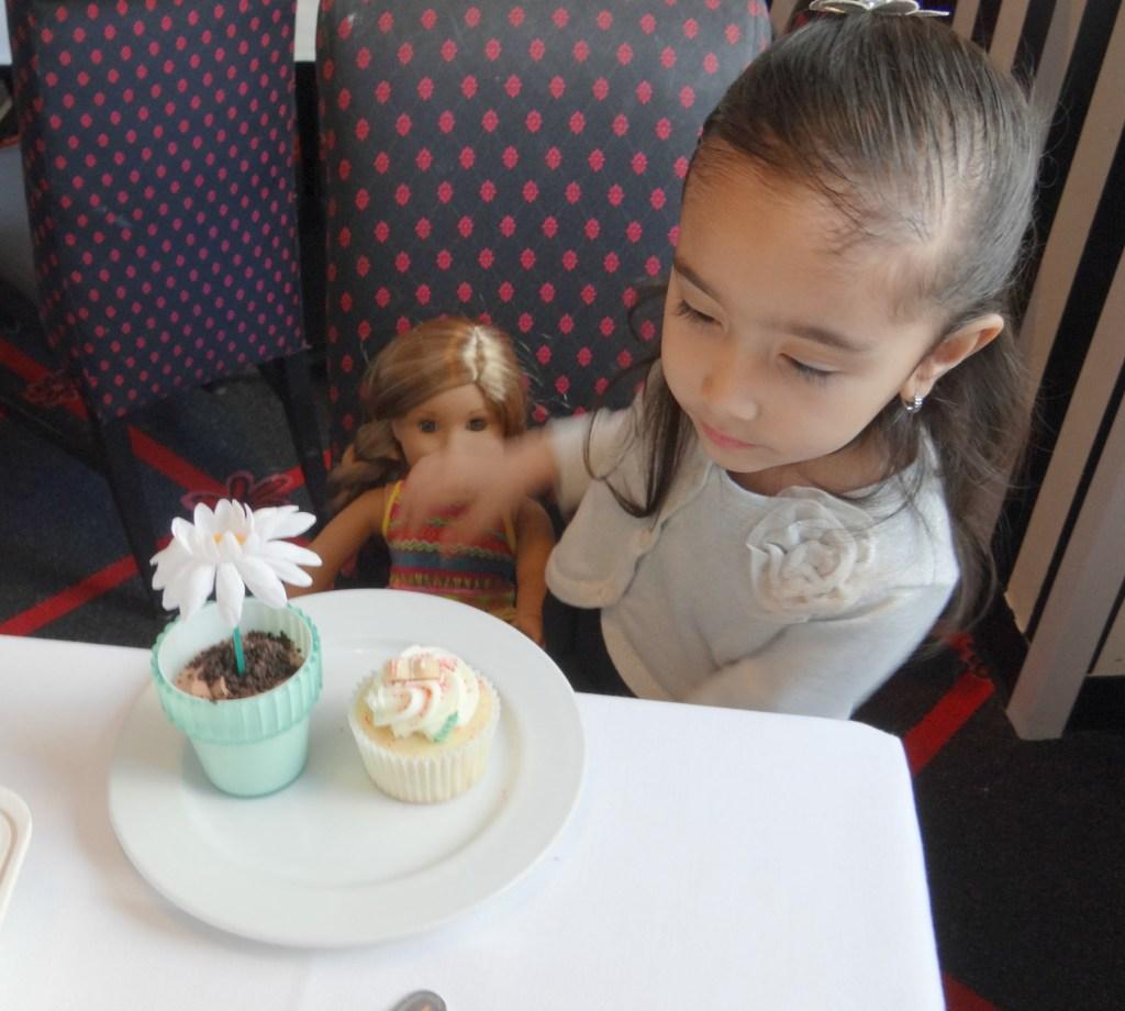 Dessert at American Girl Doll