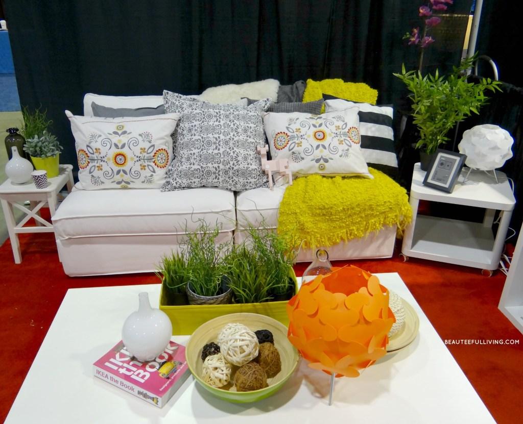 Ikea White Sofa Challenge1