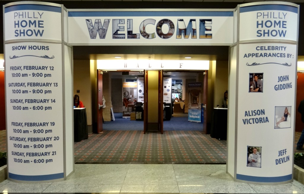Philly Home Show Entrance