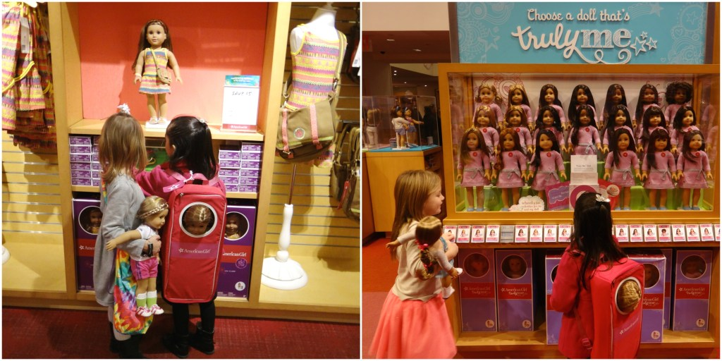 Shopping at American Girl Place