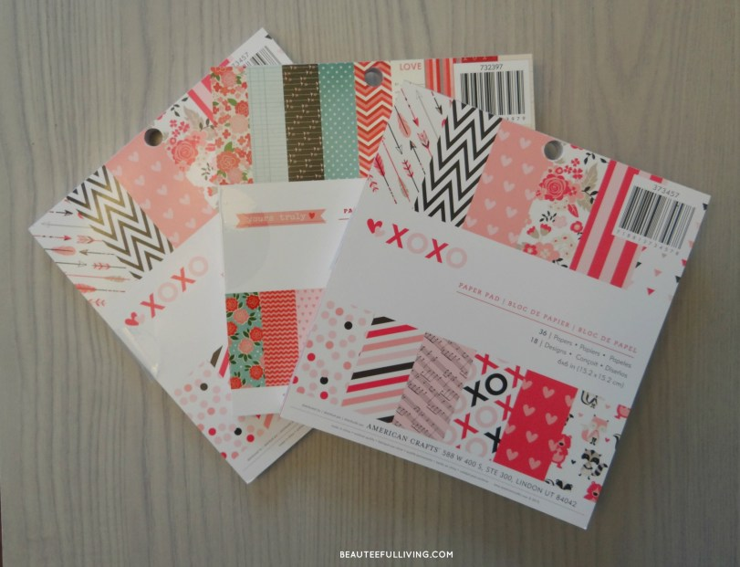 Valentines Paper Stock Packs - Beauteefulliving