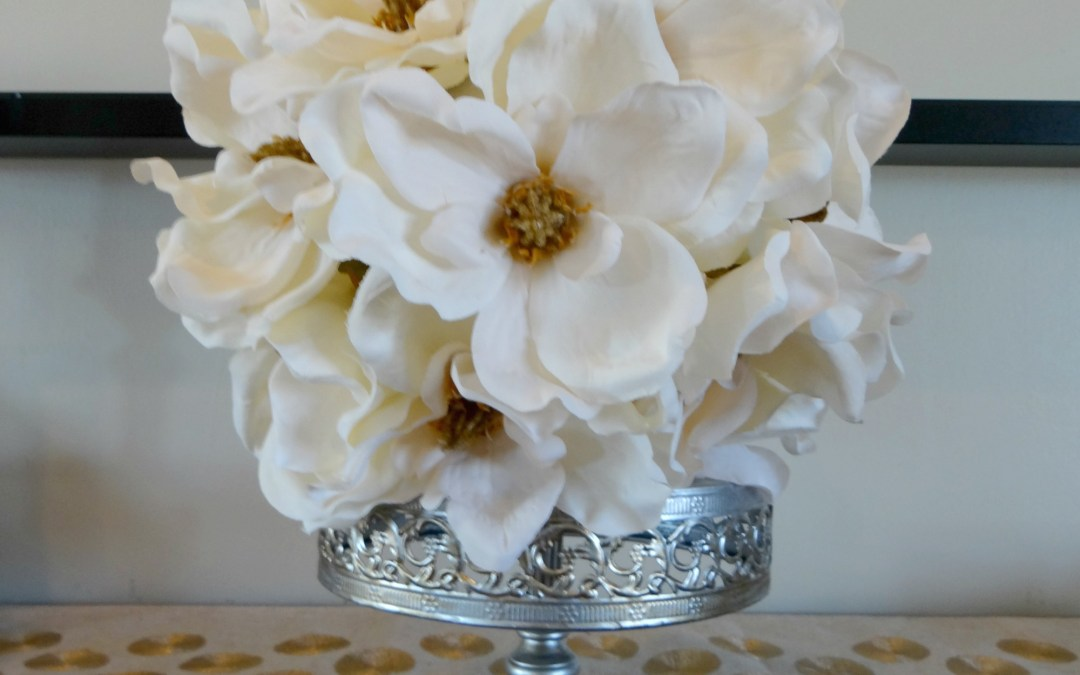 Magnolia Flower Ball DIY