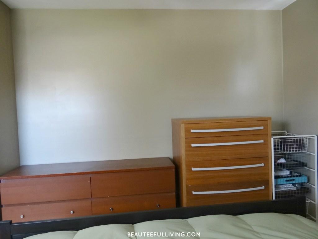 Bedroom dressers - before