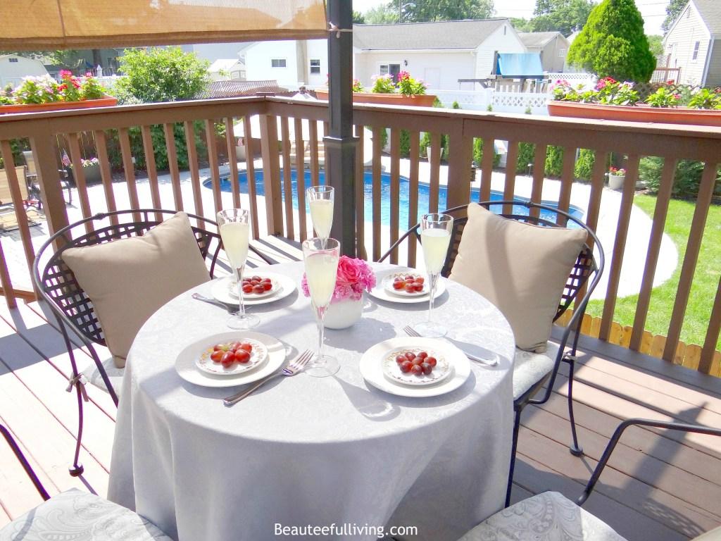 Dining under Pergola2 - Beauteeful Living