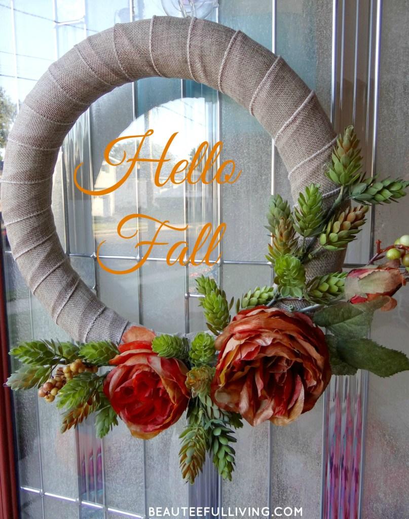 Fall DIY Wreath