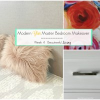 Modern Glam Master Bedroom Makeover - ORC Week 4