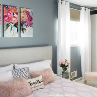 Modern Glam Master Bedroom Reveal - Beauteeful Living