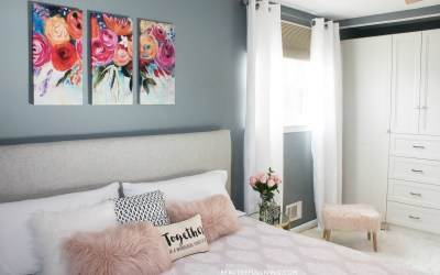 Modern Glam Master Bedroom Reveal – Beauteeful Living