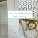 Modern Glam Master Bedroom Makeover – ORC Week 5