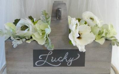 Lucky Spring Floral Centerpiece