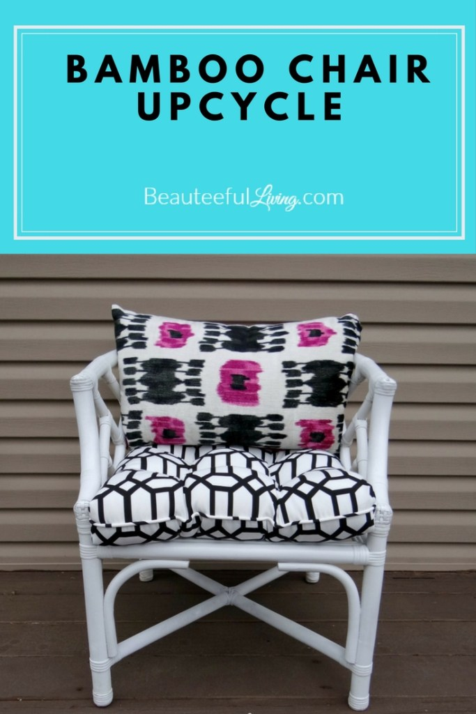 Bamboo chair upcycle