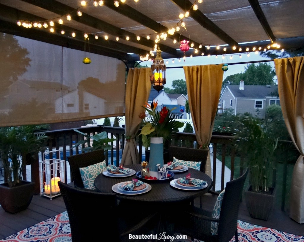 Outdoor dining - Beauteeful Living