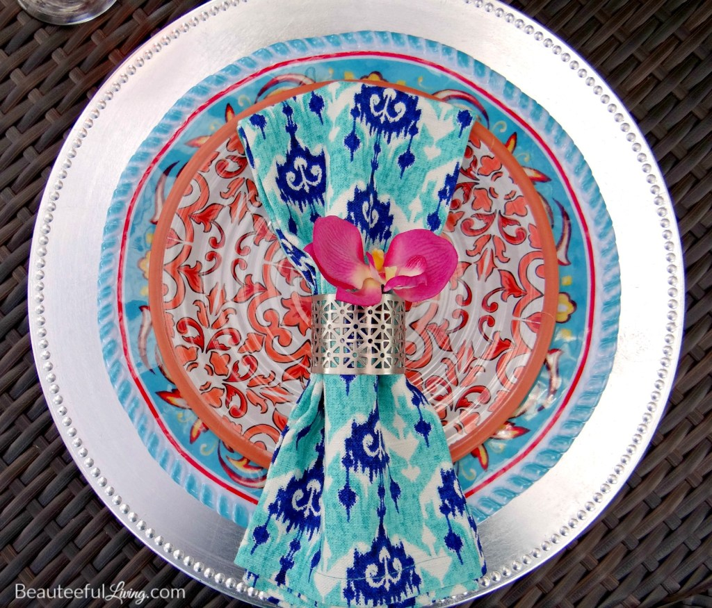 Summer place setting - Beauteeful Living