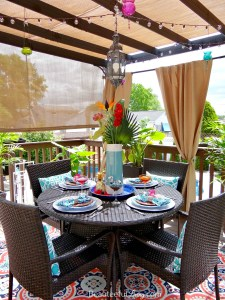 Tropical Patio Dining Area - Beauteeful Living