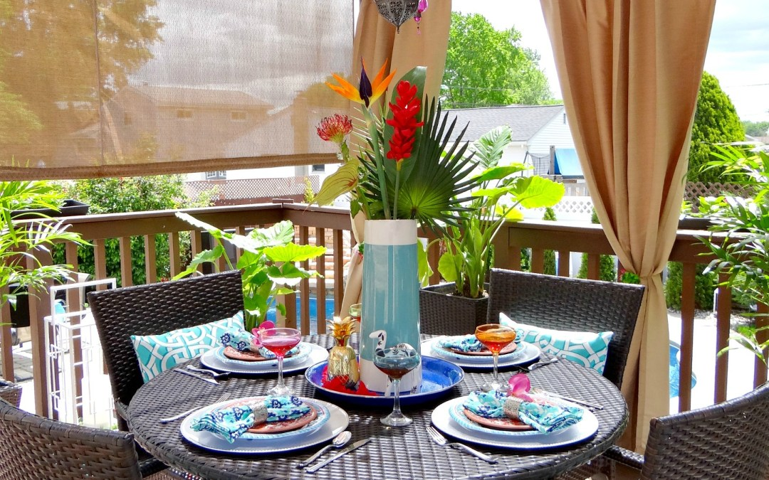 Reveal of our Tropical Dining Oasis Makeover – ORC Week 6