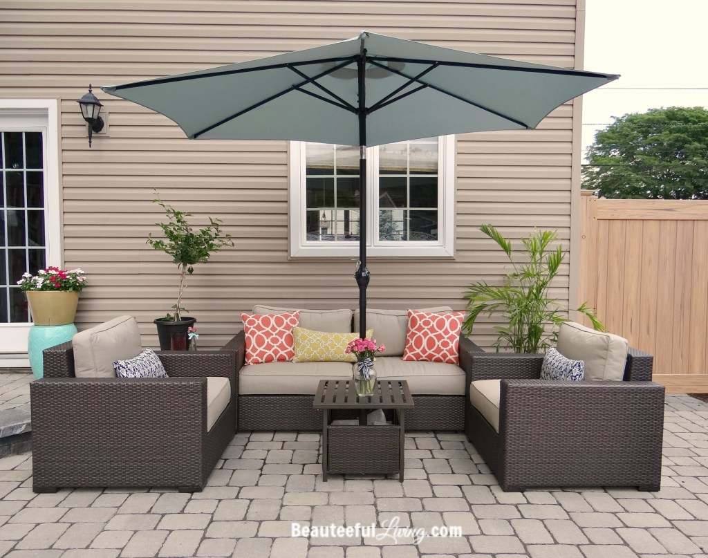 Patio conversation set - Beauteeful Living
